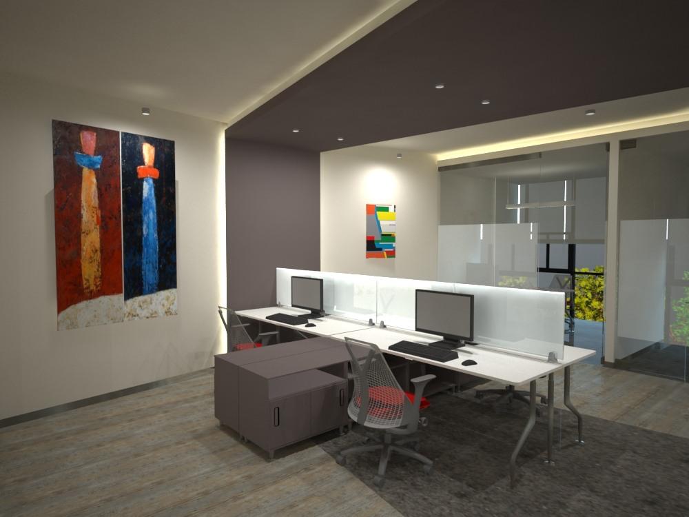 Dise o y decoraci n de interiores para oficina dise o de for Interior oficina