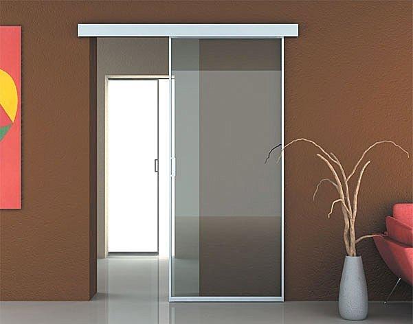 Puertas en vidrio dise o de oficinas - Puertas de vidrio para chimeneas ...