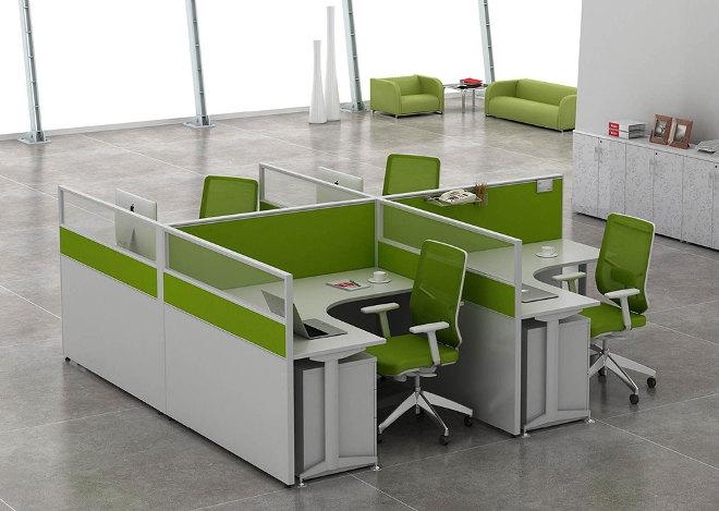 M dulos de oficina abierta dise o de oficinas for Modulos para oficina