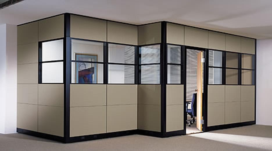 Paneles divisorios para oficinas dise o de oficinas - Paneles para separar espacios ...
