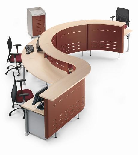 Recepci n para oficina dise o de oficinas for Muebles de oficina rd