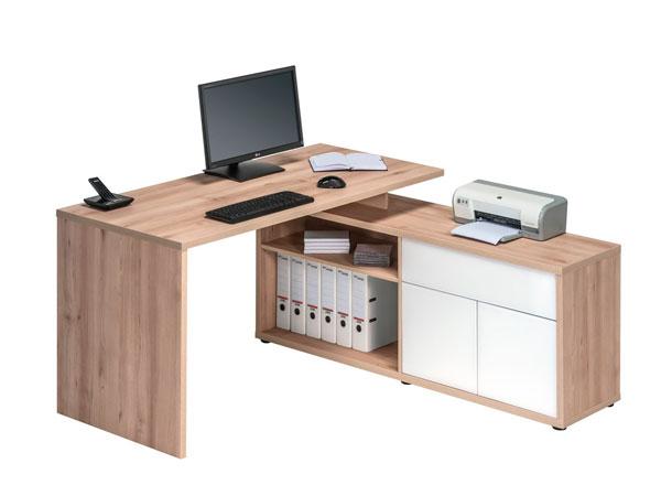 Mueble oficina con archivador az tipo l for Mueble archivador oficina