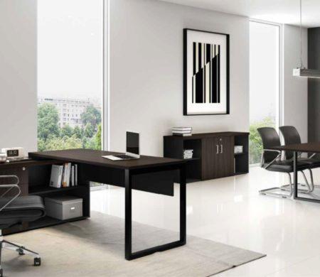 Despacho Clásico Quattro Integrado a Sala de Reuniones