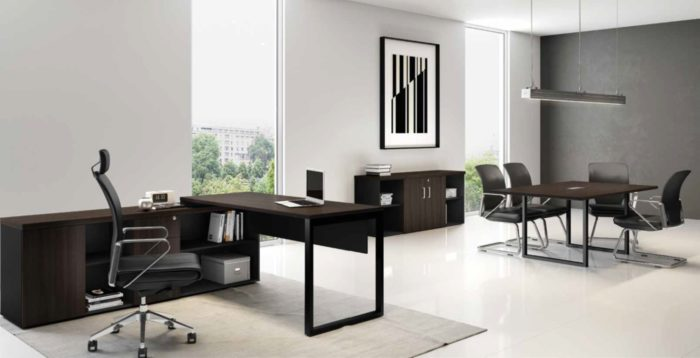 Despacho Clásico Quattro Integrado a Sala de Reuniones (1)