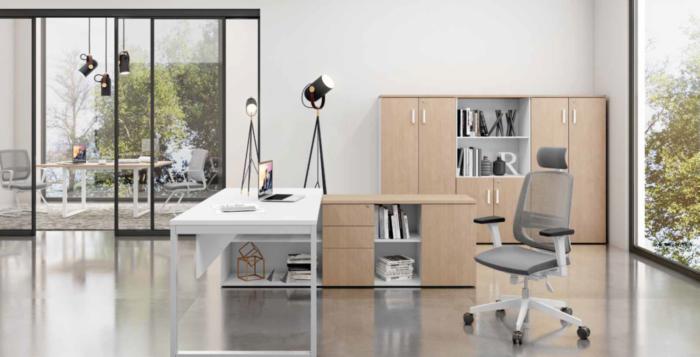 Despacho Quattro Moderno Bicolor