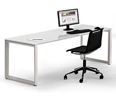escritorio para trabajo coperativo