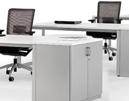escritorio Quatro con Extensión de Archivo o Almacenamiento