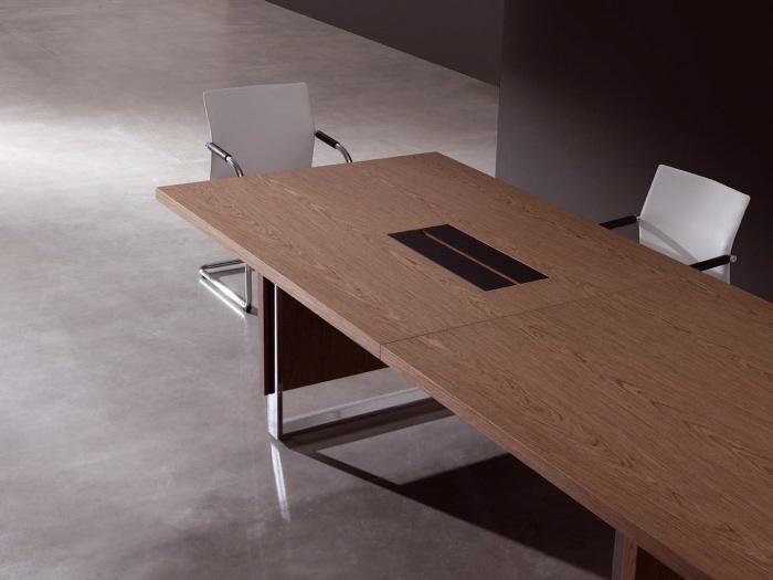mesa-nogal-madera-moderna-veta-clara-base-mixta-canaleta-1.50x5.00metros